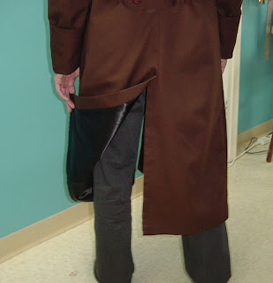 AbbyShot's Prototype of the Metal Gear Inspired Liquid Snake FOXHOUND Coat - Tail of the Coat