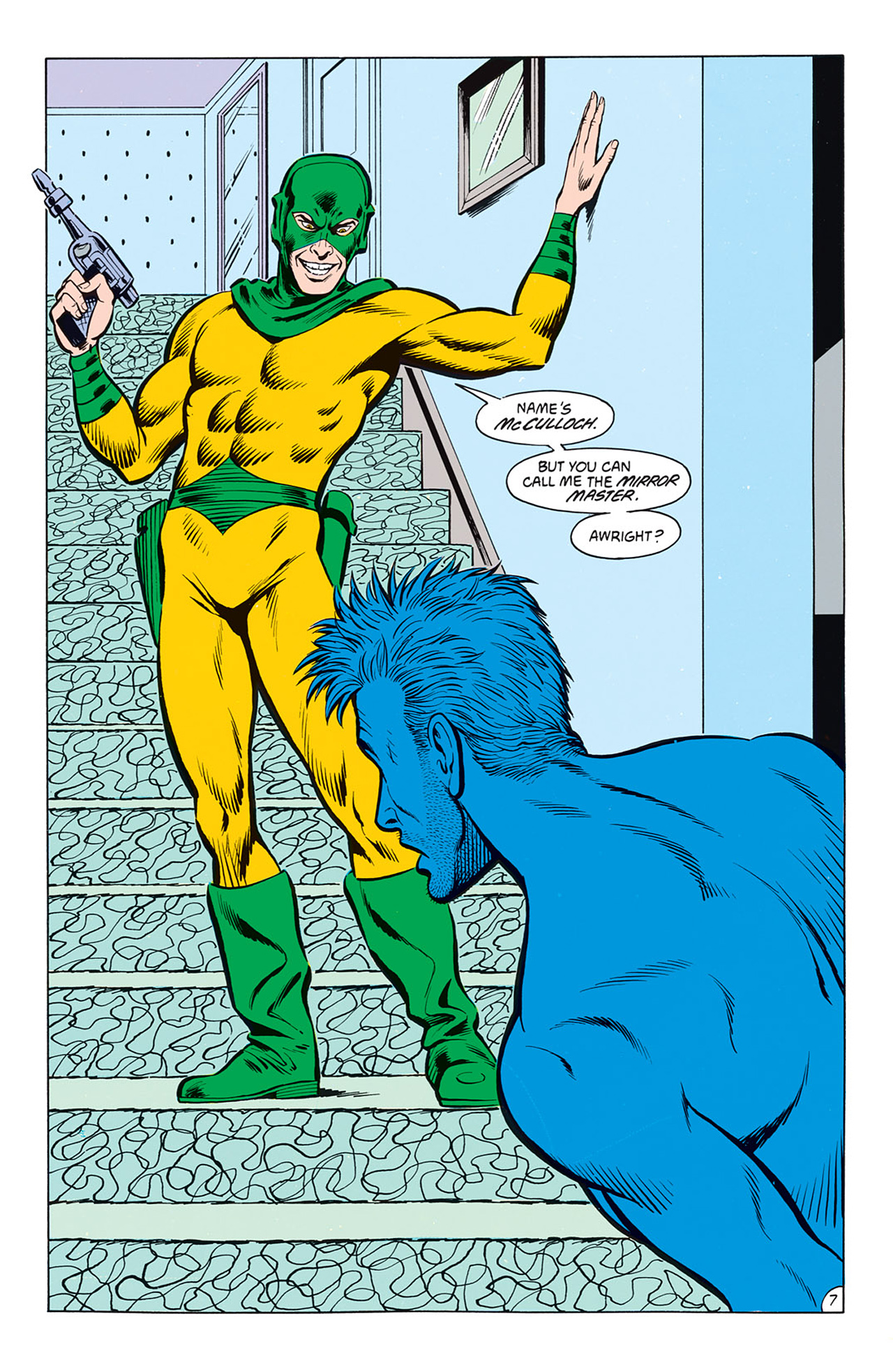 Read online Animal Man (1988) comic -  Issue #8 - 9