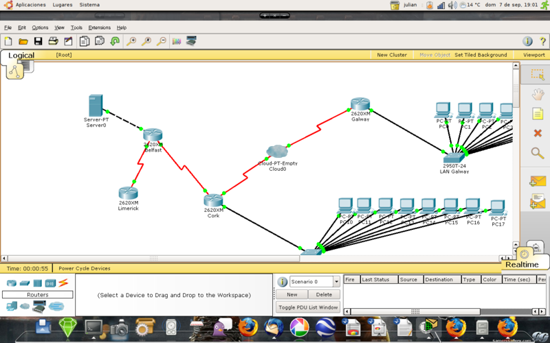 Cisco packet tracer 11 6 1