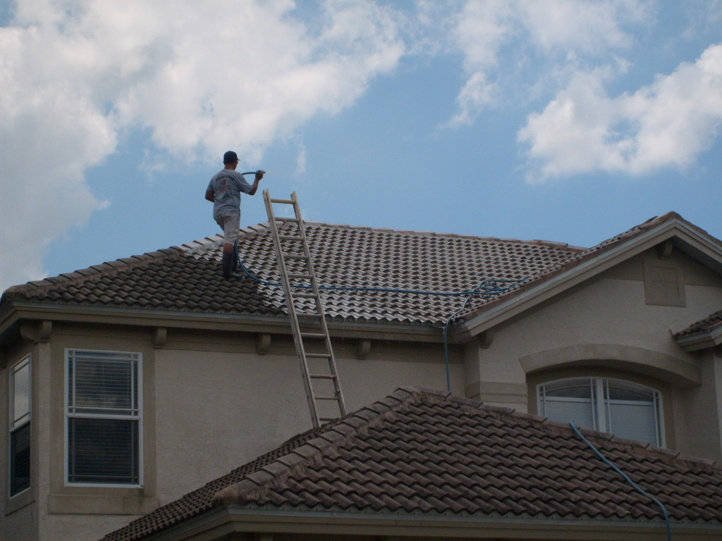 Cleaning Tile Roof Tampa Apple Roof Cleaning Tampa
