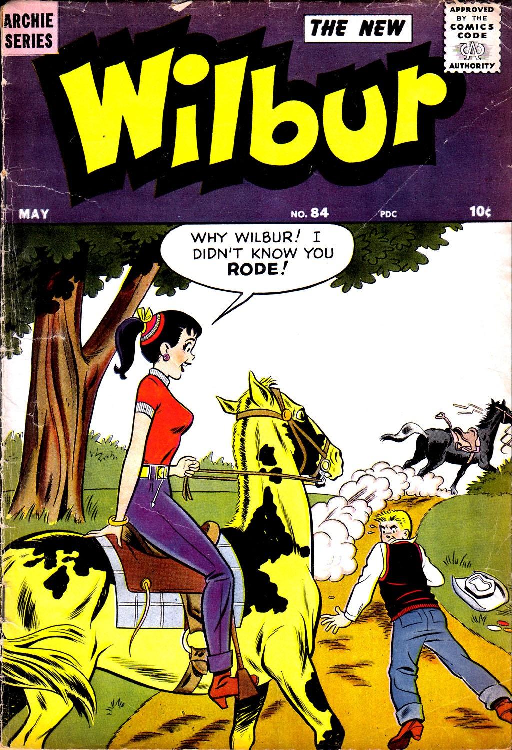 Wilbur Comics 84 Page 1