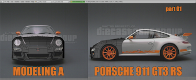 Modelling a Porsche 911 GT3 RS Blender Tutorial