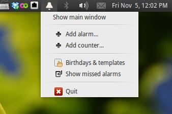 Alarm Clock - Nice Simple App for Setting Reminders and Alarms in Ubuntu
