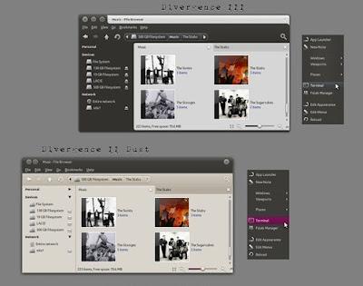 Divergence IV - A New Hope GTK Theme