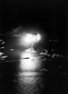 X-RAY: Test:X-Ray; Date:April 14 1948; Operation:Sandstone; Site:Enwetak Atoll, Island Engebi (Janet); Detonation:200ft. Tower Yield:37kt; Type:Fission