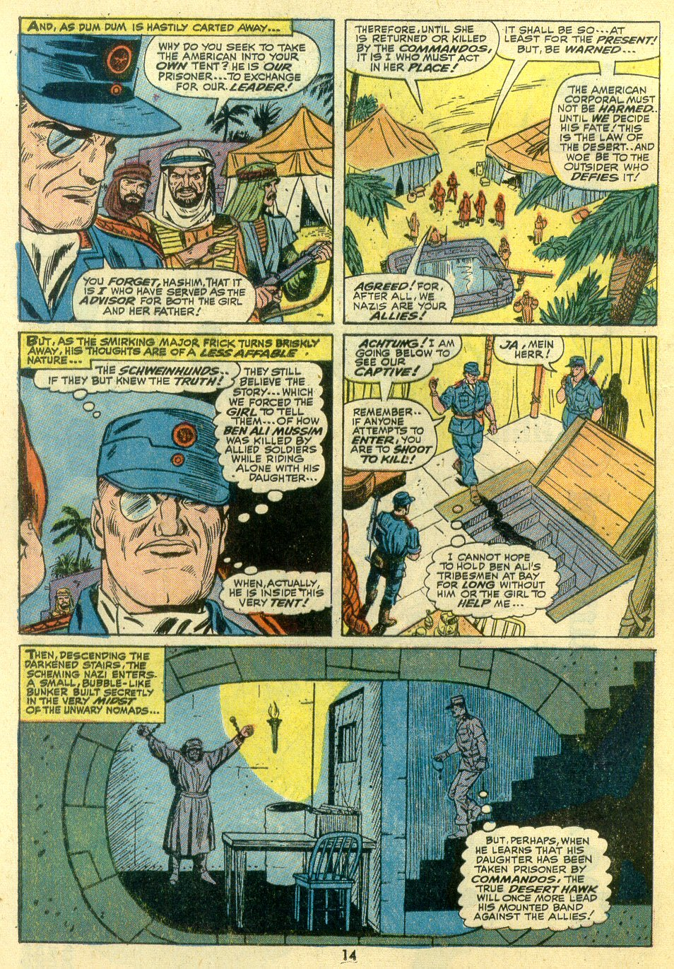Read online Sgt. Fury comic -  Issue #107 - 16