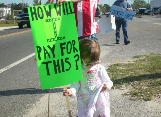 Economic Perspectives: The Irony of Tax Tea Party Protest ...