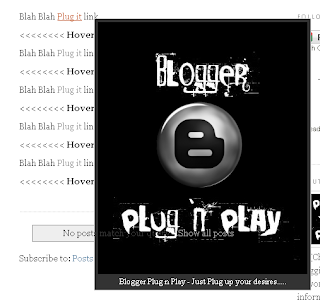 Blogger Plug n Play - jQuery Tools and Widgets: How to Auto