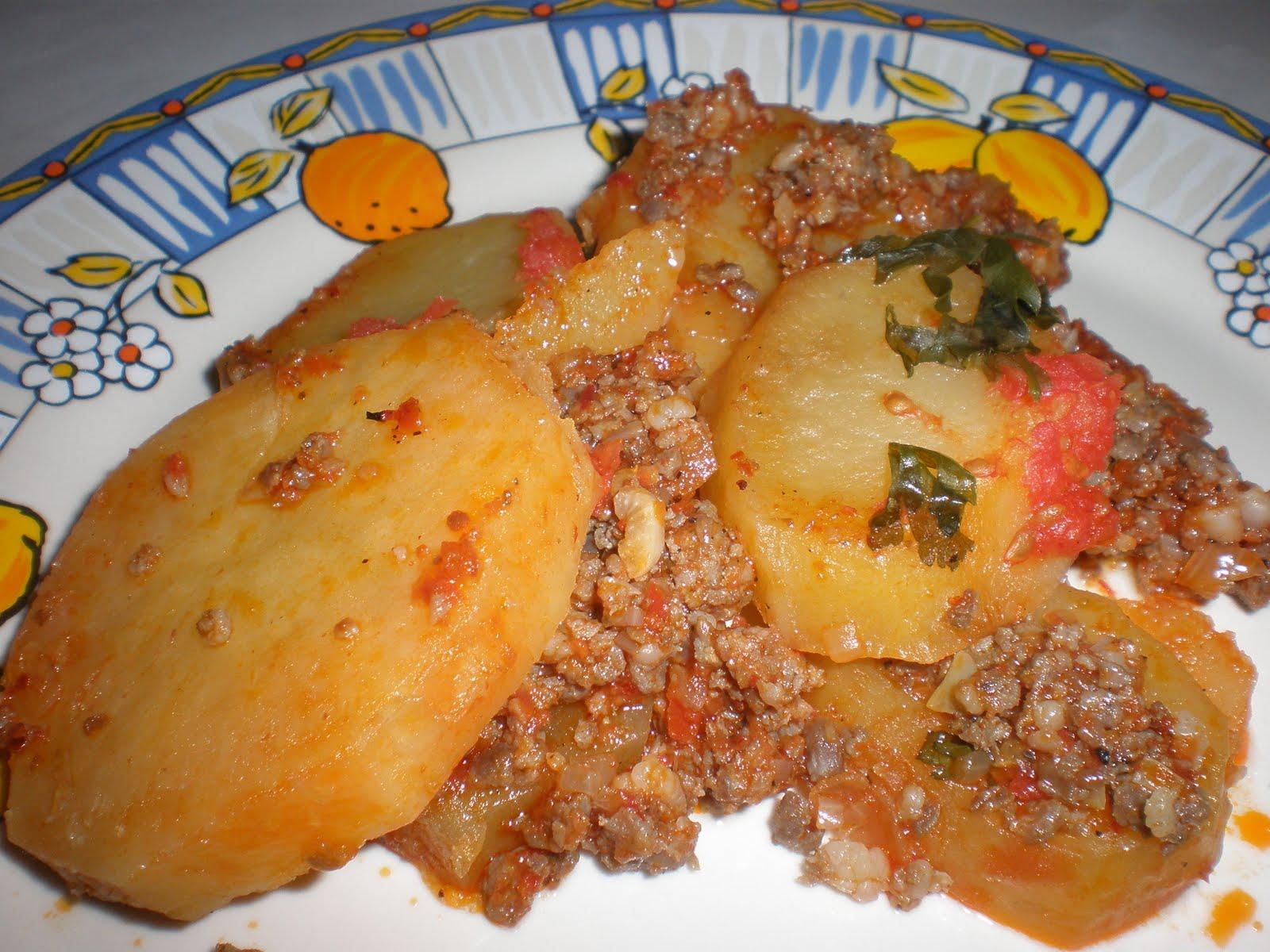 Sarkaç: Köfte Patates