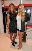 Anna Kournikova and Kelly Bensimon out for