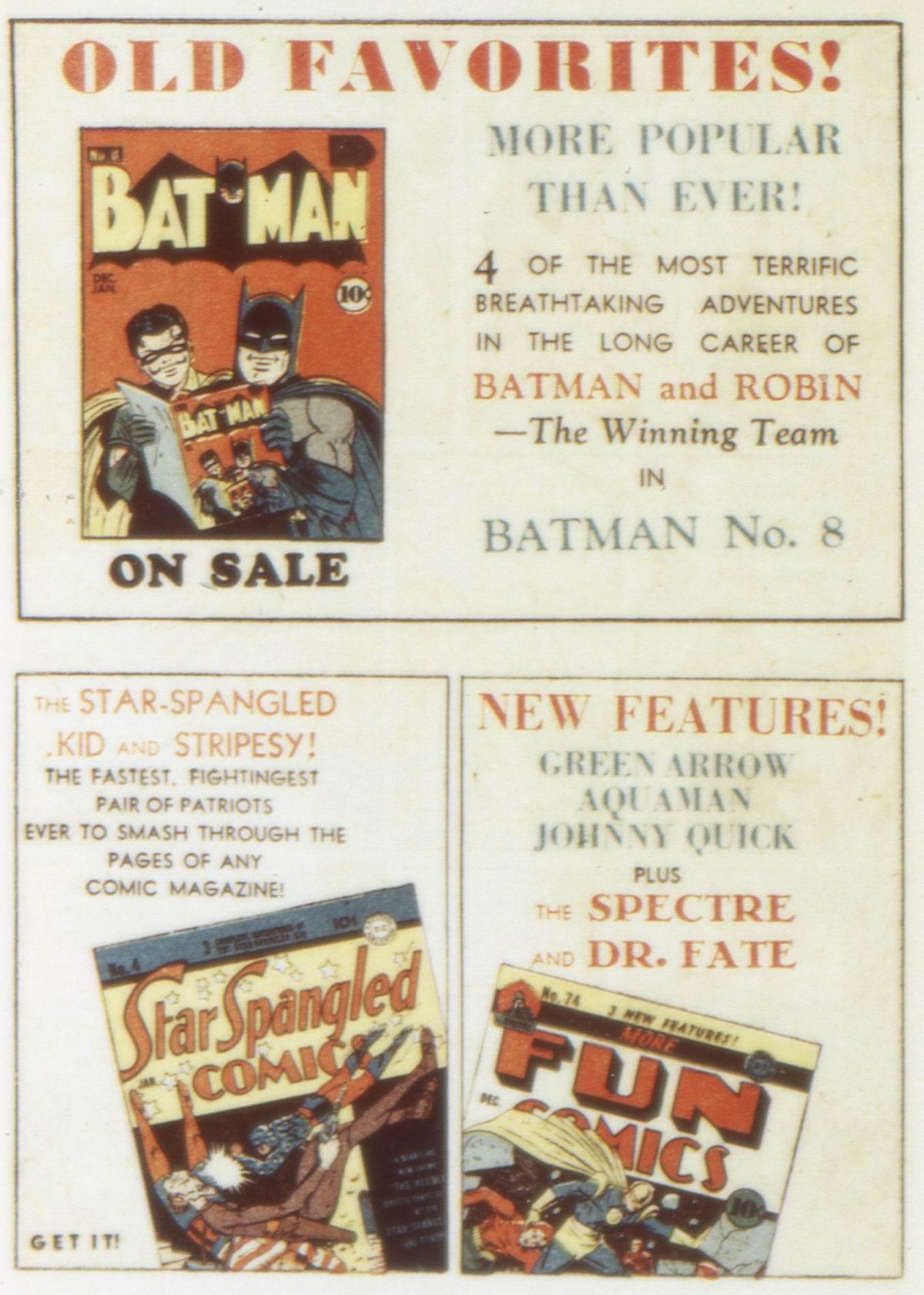 Read online Detective Comics (1937) comic -  Issue #58 - 50