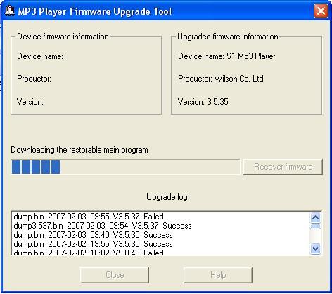 Tudo Para MP4 & Android: Firmware MP4 FOSTON AK25 SDK - 2007-01-12 9