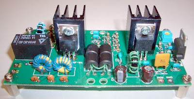 QRP Homebrew : QRP linear amp by KEM