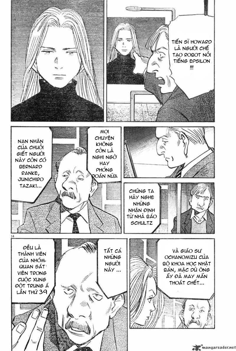 Pluto chapter 29 trang 15