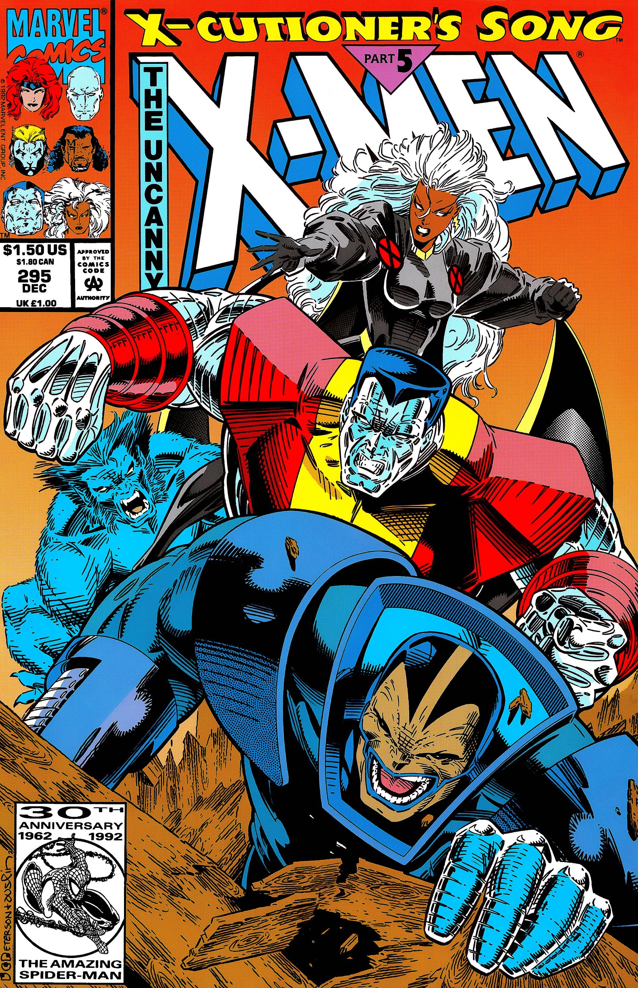 Read online Uncanny X-Men (1963) comic -  Issue #295 - 1