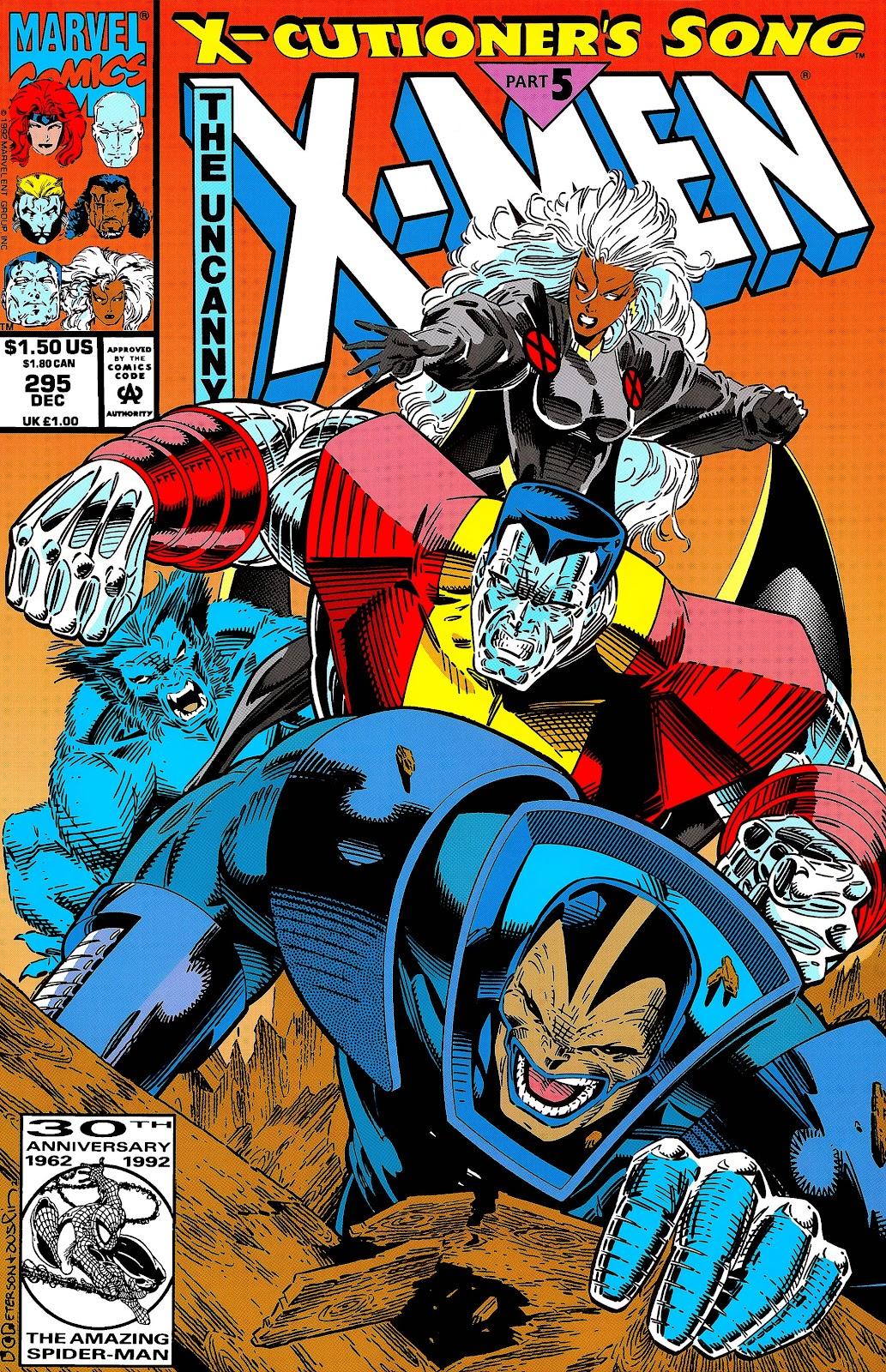 Uncanny X-Men (1963) issue 295 - Page 1