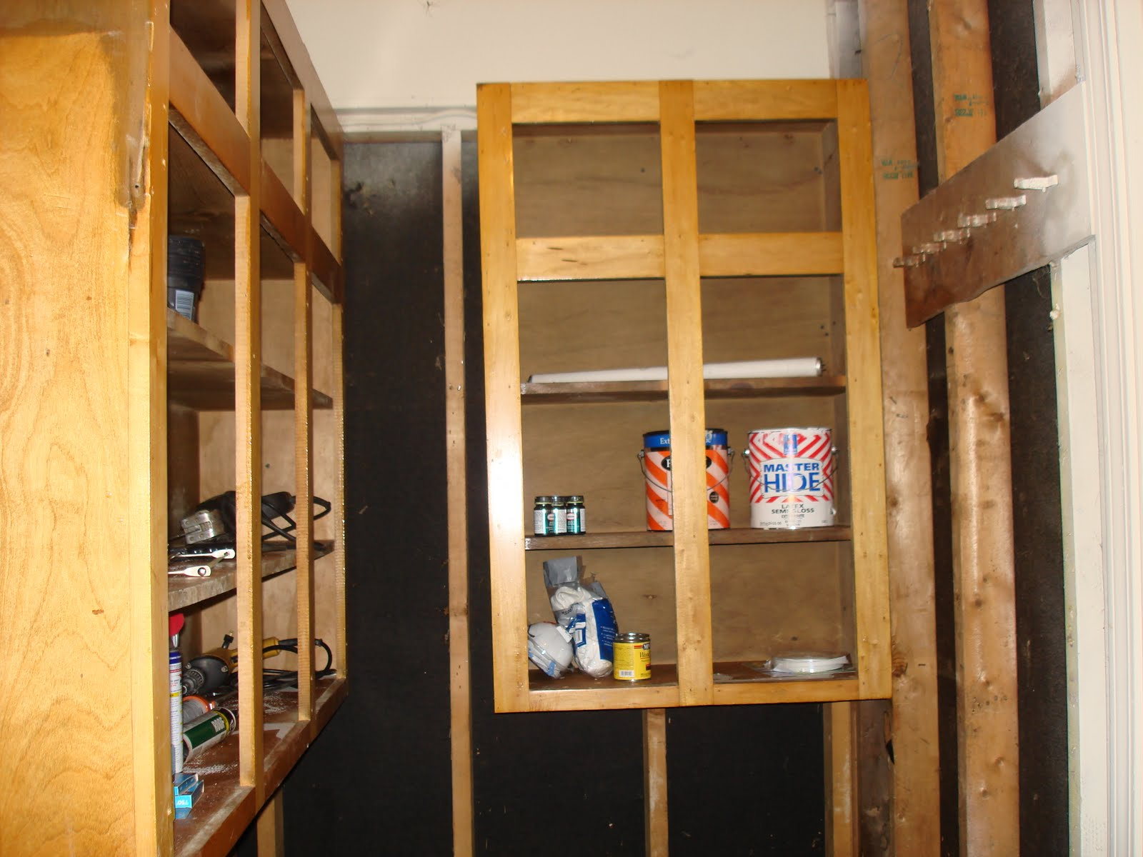 These cabinets have been great in expanding the storage of an already