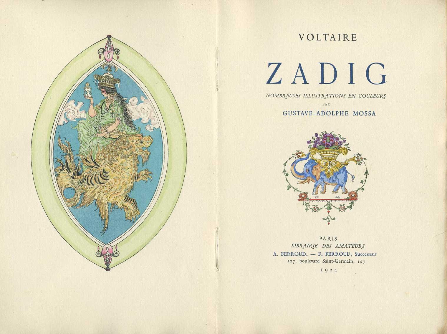 du livre consid u00e9r u00e9 comme un des beaux arts  zadig ou la