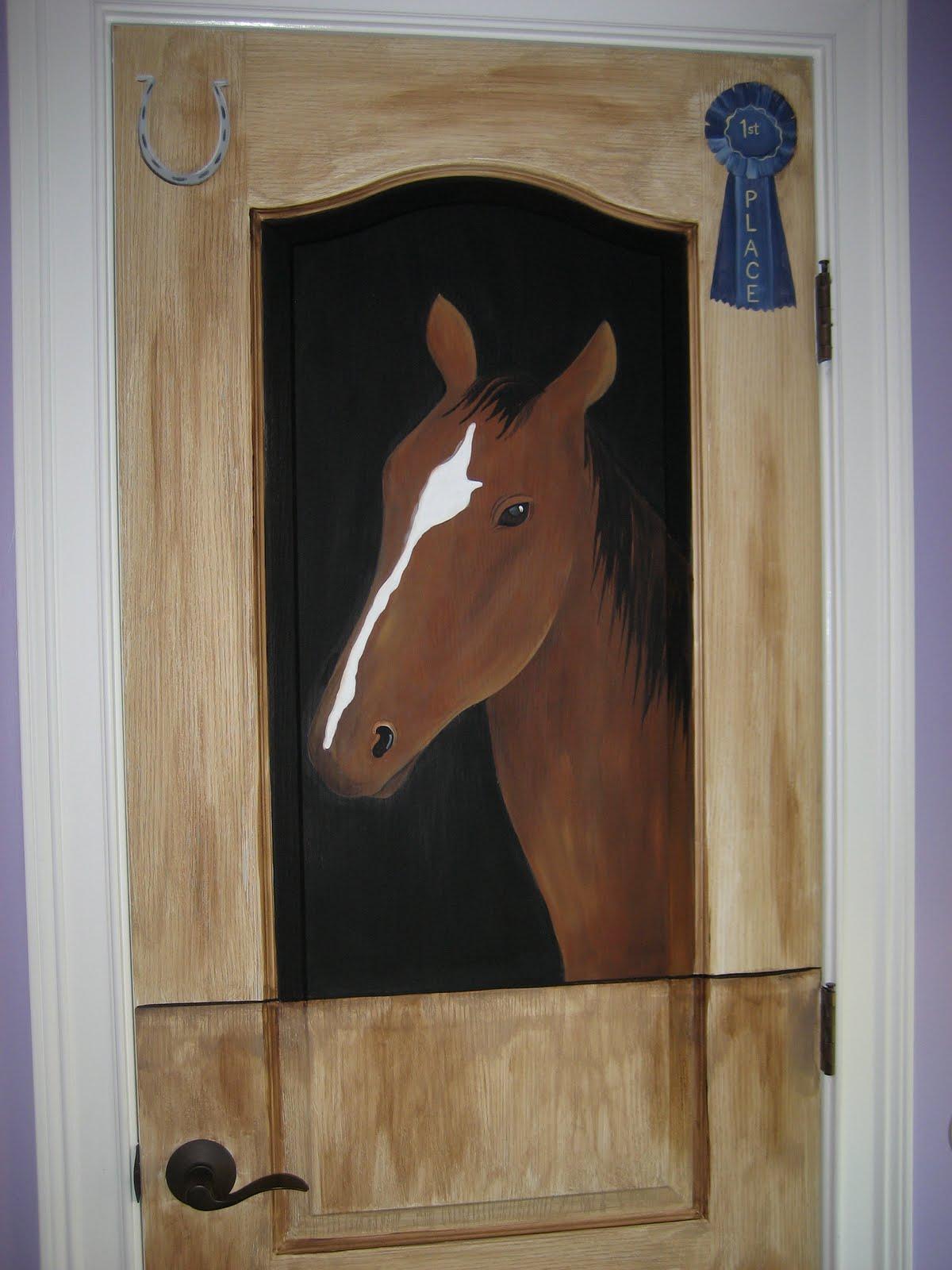 You Re Art By Corie Kline Horse Stable Door Mural