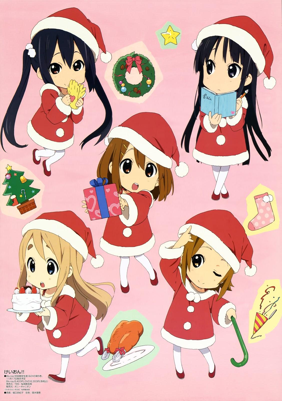 Jg S Playground Anime K On Christmas Wallpapers