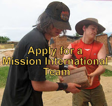 Apply to be part of a Mission International - Mission team