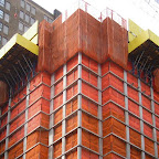 Caution - During construction of the new tower at 6th Ave. & 32nd St.