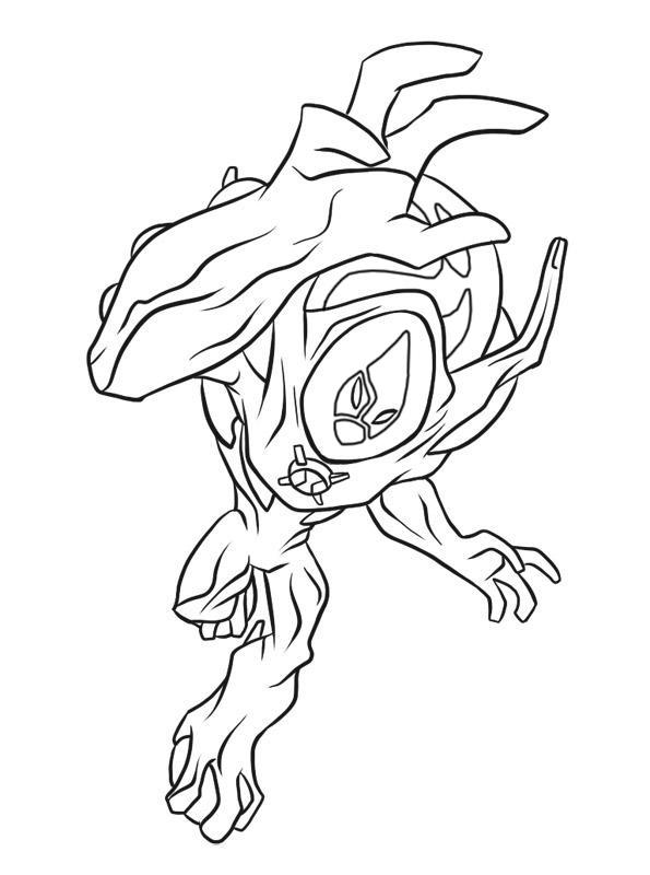 Ben 10 Ultimate Alien Desenhos Para Colorir