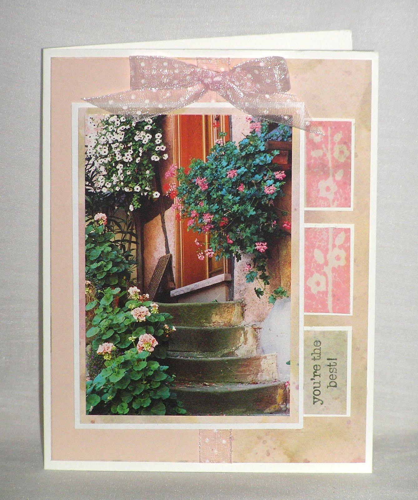 Flowers For Front Door: BeeBee Stamps!: Flowers At The Front Door