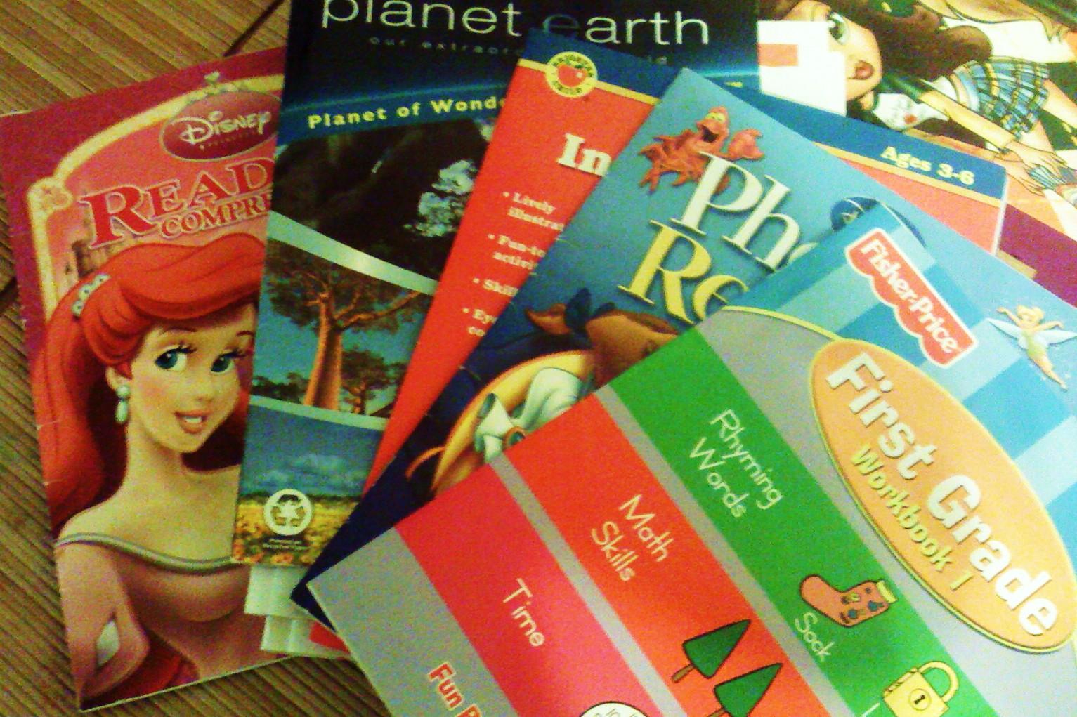 Wonder World Classroom When Workbooks Are For Unschoolers
