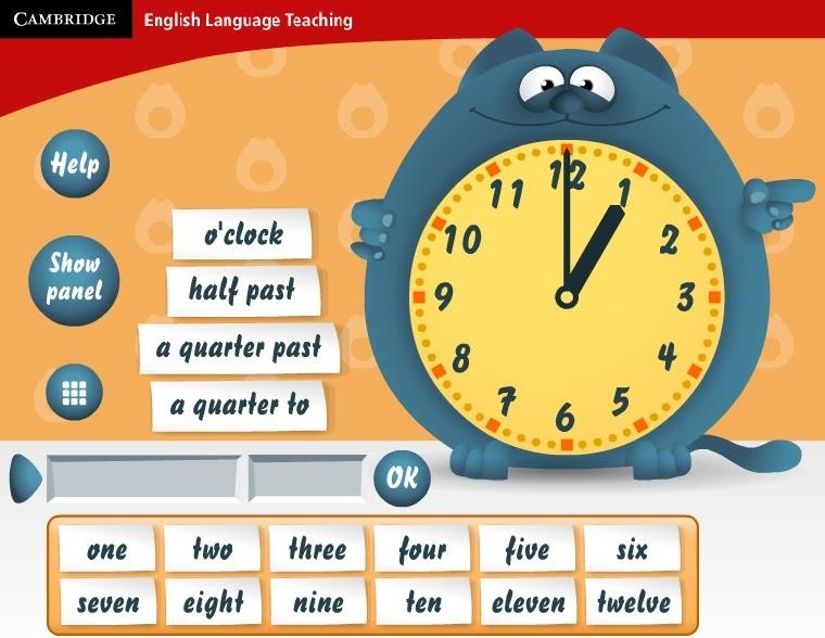 Repasa Las Horas En Inglés Gela Proa
