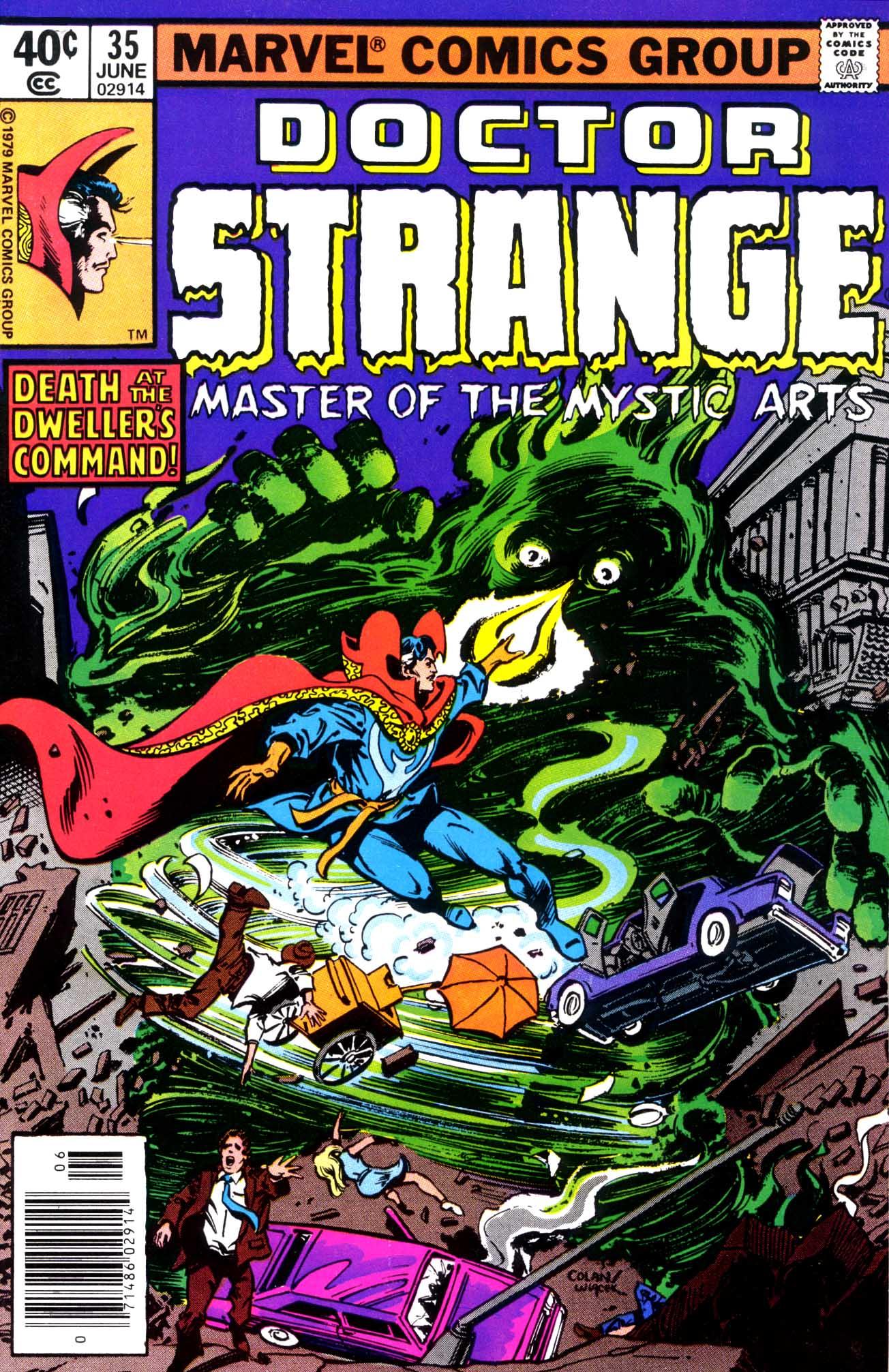 Doctor Strange (1974) 35 Page 1