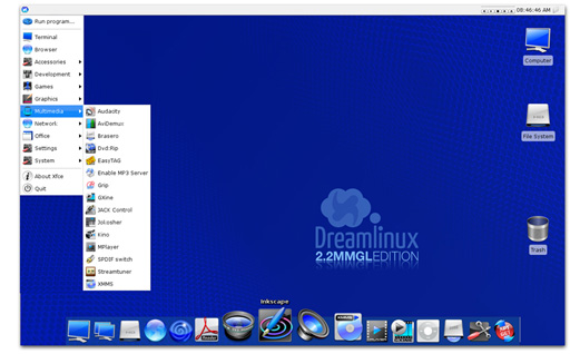 Download dream linux