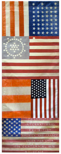3b50b5fc802 Kit Hinrich s renown American flag-related collection Long May She Wave  A Graphic  History of the American Flag Currently on display at the Cross Timbers ...