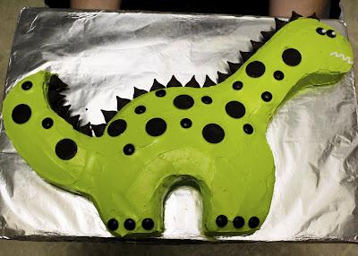 Inspiration Organization Dinosaur Cake