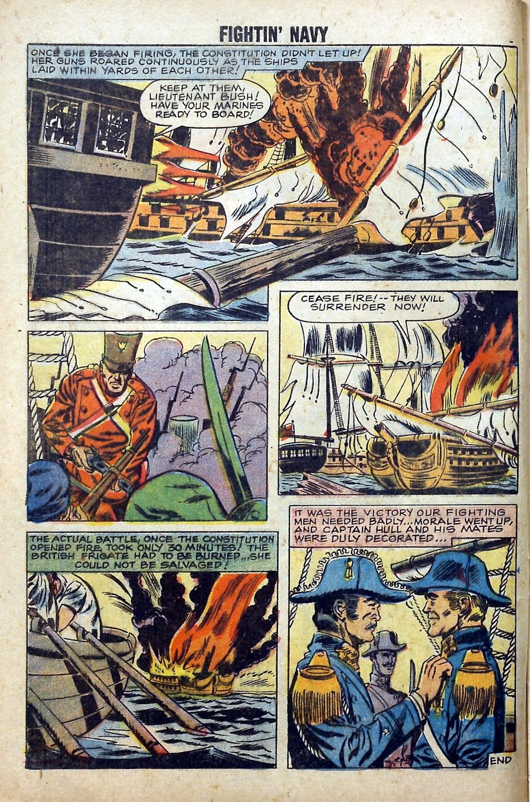 Read online Fightin' Navy comic -  Issue #84 - 8