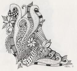 drawings idea zentastic maria thomas zentangle