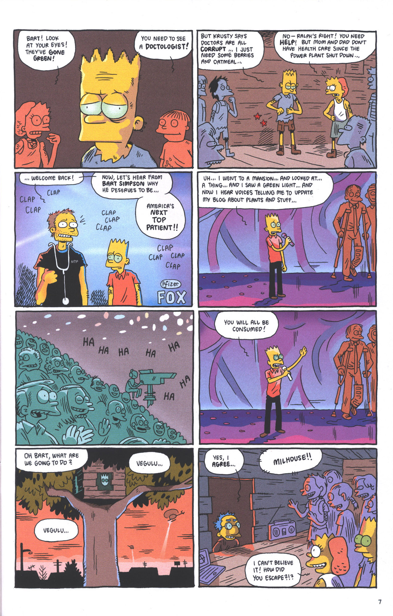 Read online Treehouse of Horror comic -  Issue #15 - 10
