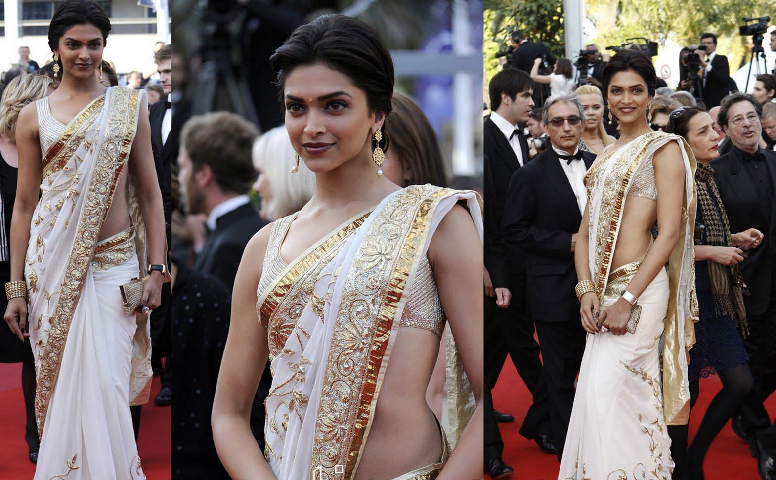 beautiesinsarees: Deepikaa padukone hot navel and bareback ...