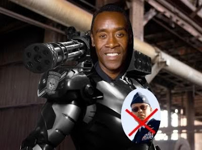 Marvel Studios stab Terrence Howard int he back: Don Cheadle will be Jim Rhodes aka War Machine in Iron Man2!