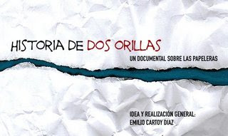 caratula documental Historia de dos orillas