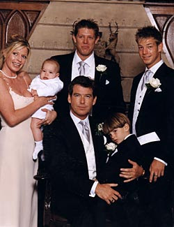 Pierce Brosnan Kinder