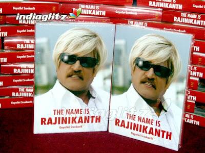 The Name Is Rajinikanth Book