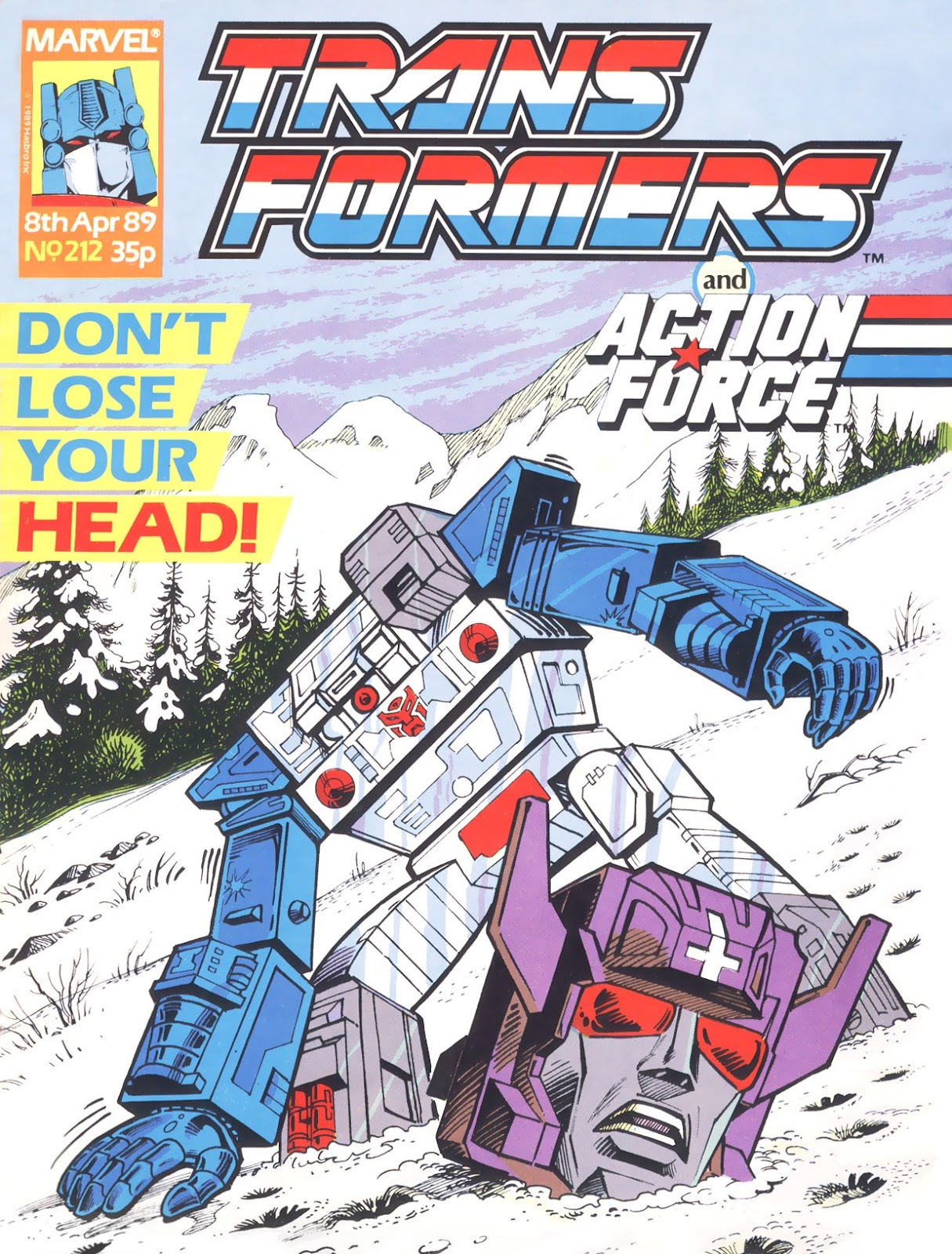 The Transformers (UK) 212 Page 1