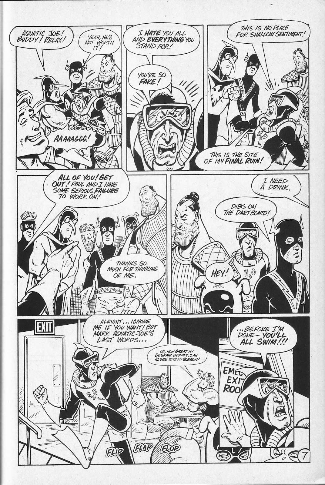 Read online Paul the Samurai (1991) comic -  Issue # TPB - 73