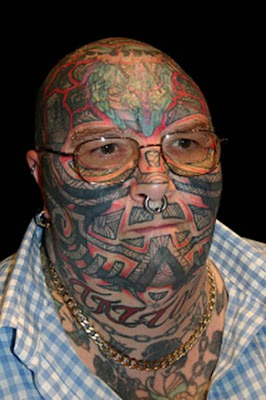 20 Strange Tattoos and Ugly body modifications ~ CRAZY PICS