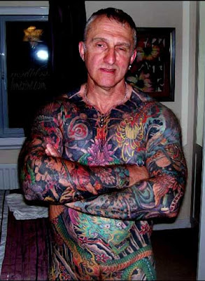 3d4b7c20e Crazy Picture: Strange Tattoos and Ugly body modifications