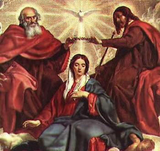 Blessed Mother and the Holy Trinity