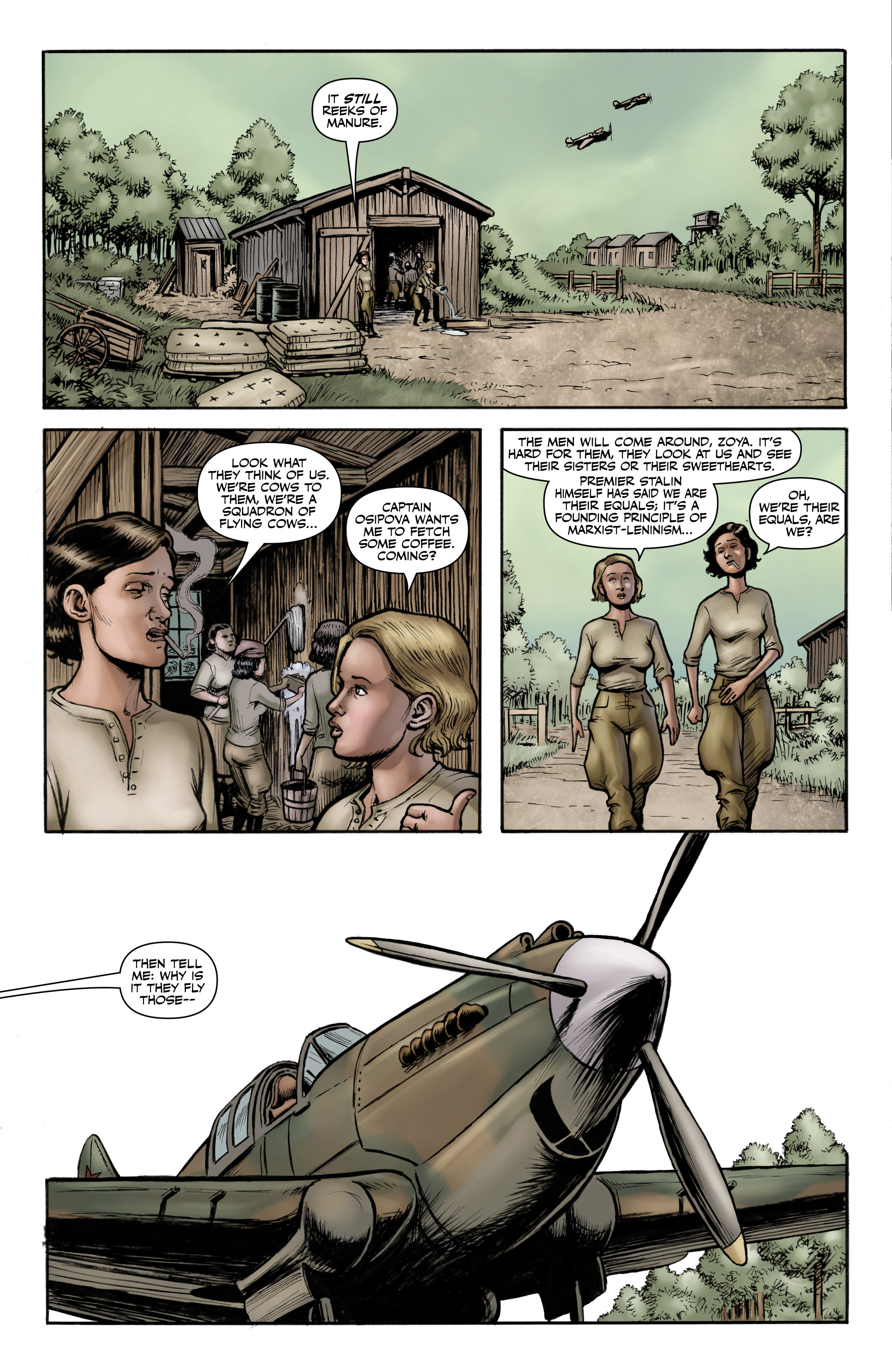Read online Battlefields: Night Witches comic -  Issue # TPB - 14
