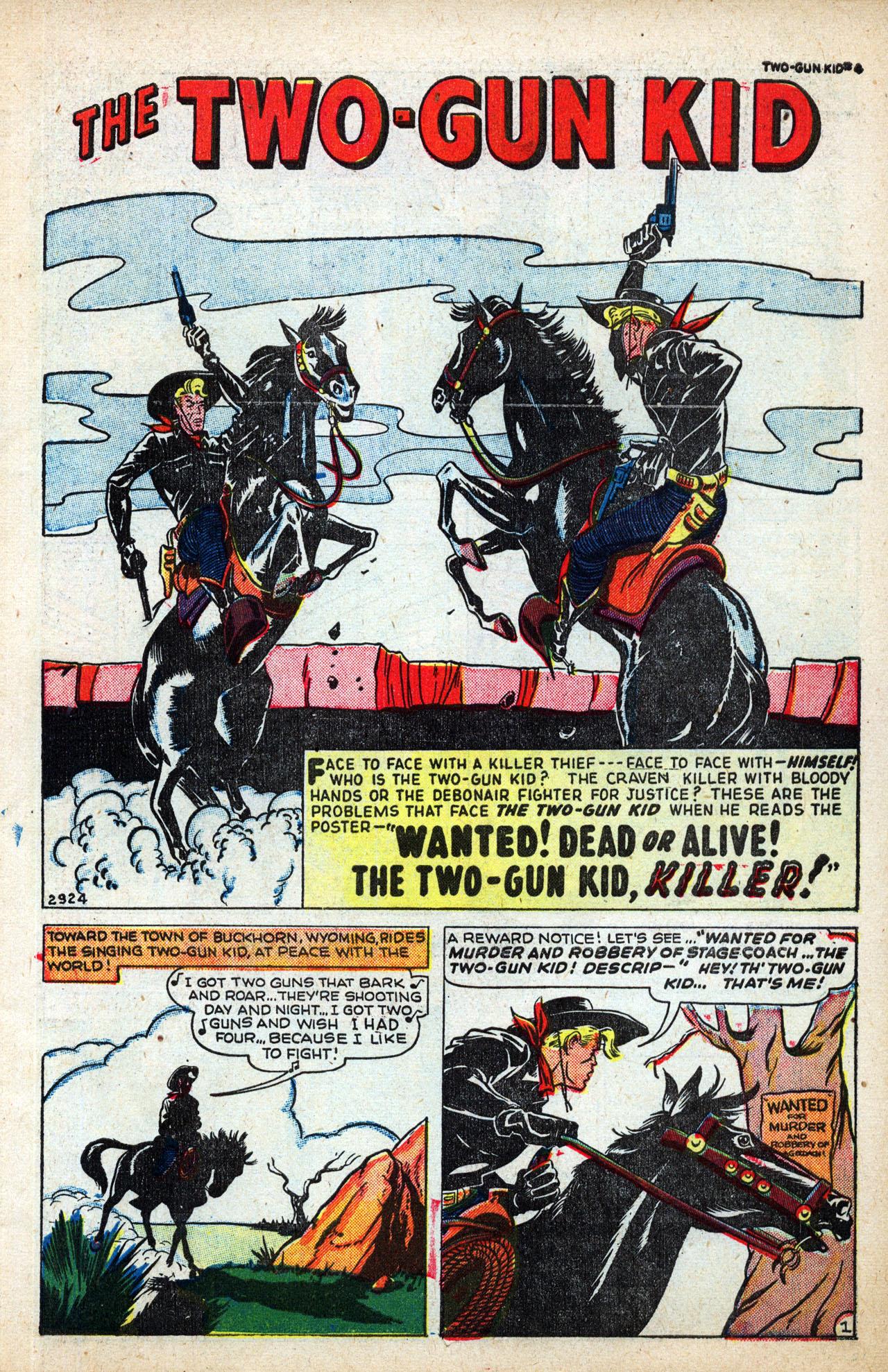 Read online Two-Gun Kid comic -  Issue #4 - 3