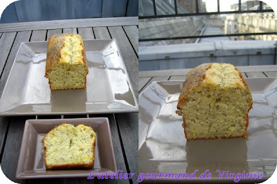 Cake Citron Pavot Gianduja